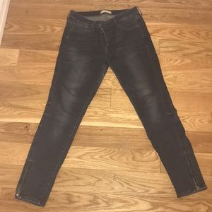 Uniqlo skinny jeans (middle rise) - 27inch
